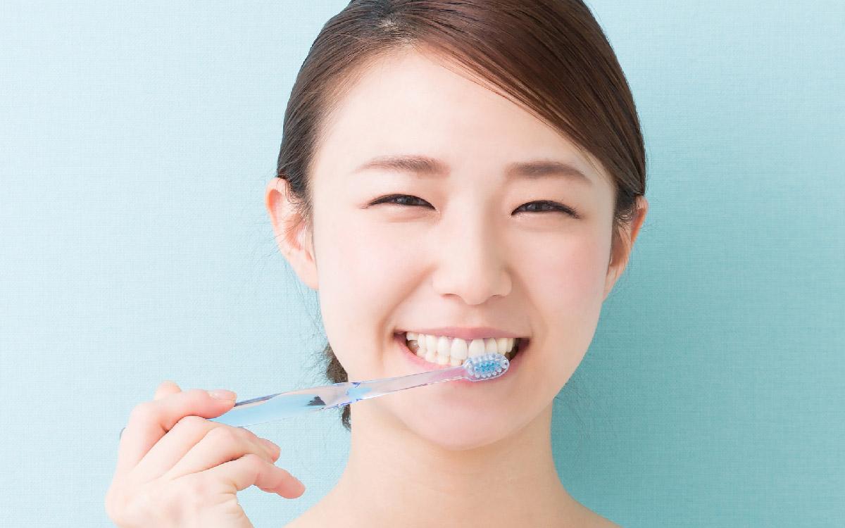 画像:歯磨き