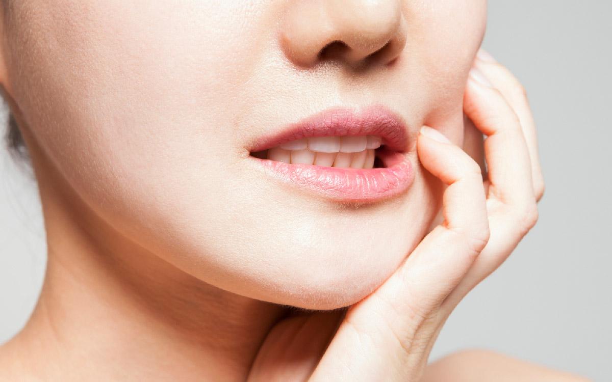 画像:あごの関節・周囲の筋肉の健康改善