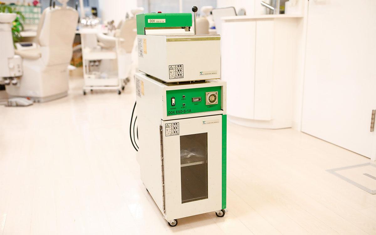画像:エチレンオキサイドガス滅菌機