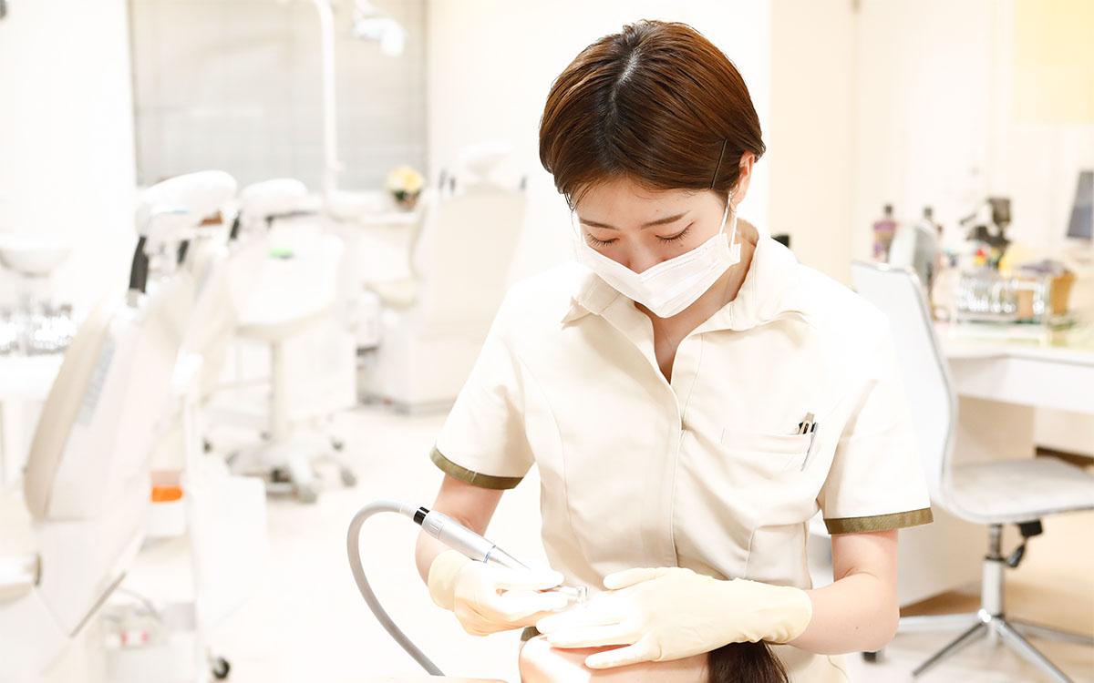 画像:当院のホワイトニング後のアフターケア